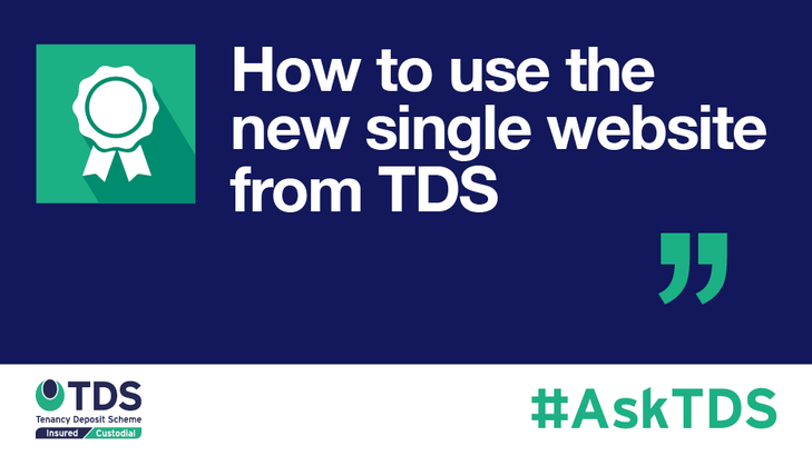 AskTDS blog graphic - How to use the new single site from TDS
