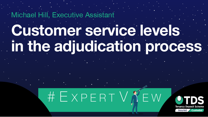 ExpertView blog image - Customer Service levels in the adjudication process