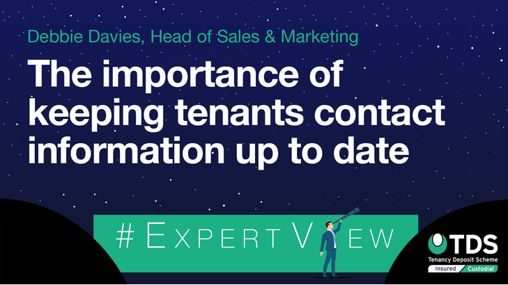 ExpertView blog image - The importance of keeping tenants contact information up to date