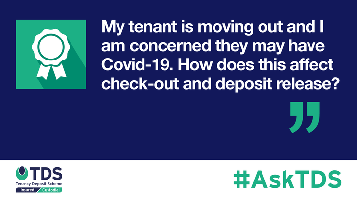 AskTDS blog graphic - check out and deposit release during Covid-19