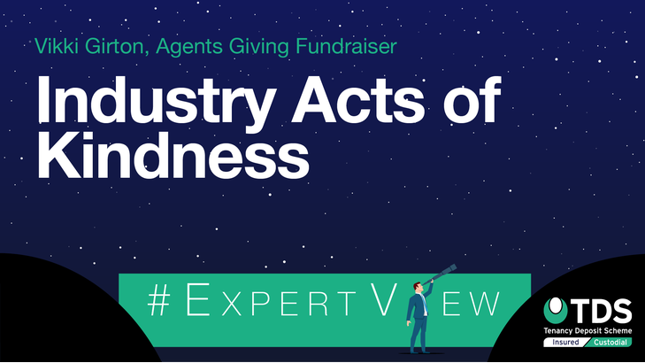 ExpertView blog image - Industry acts of kindness Agents Giving