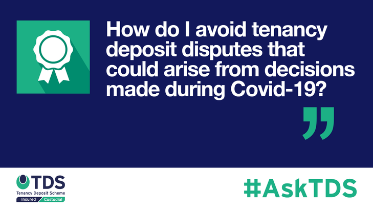 AskTDS blog graphic - disputes from Covid-19