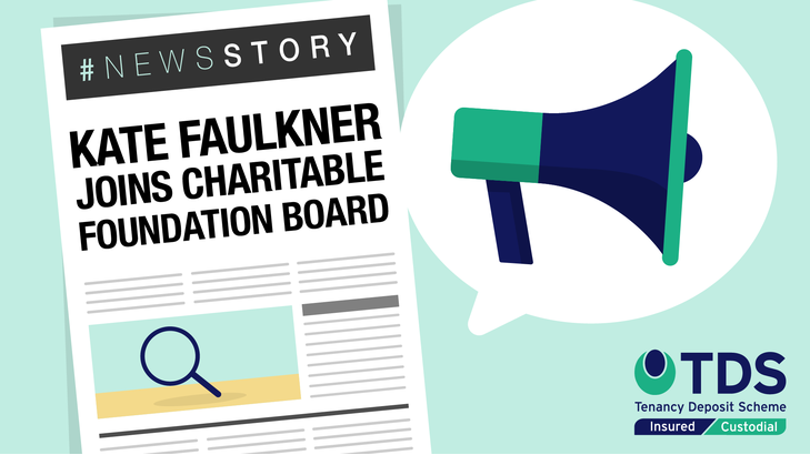 NewsStory blog graphic - Kate Faulkner joins TDS Charitable Foundation Board