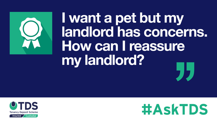 AskTDS blog image - pets and landlord concerns