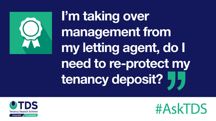 AskTDS blog image - Do I need to re-protect my deposit?