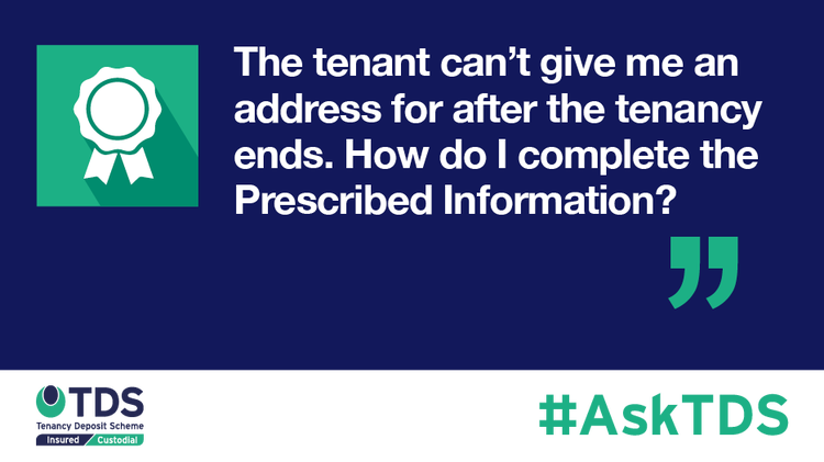 AskTDS blog graphic - Prescribed Information
