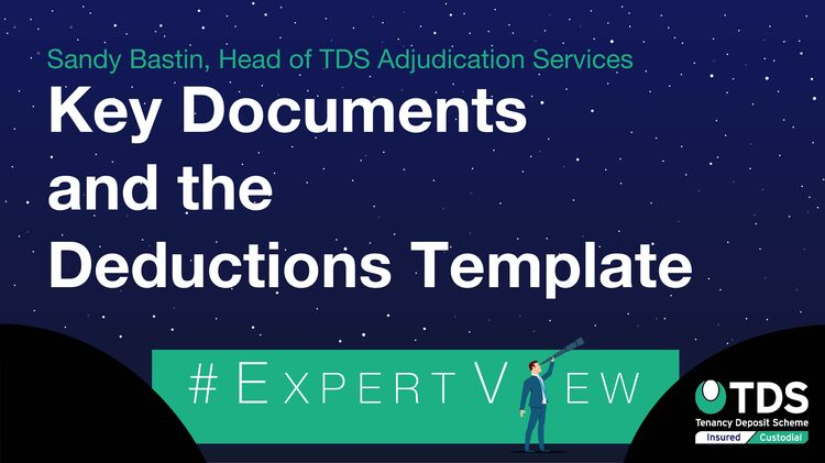 ExpertView blog image - Key documents and the deductions template