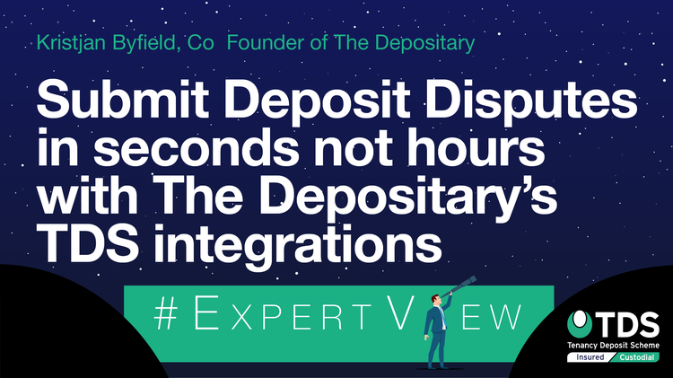 Submit Deposit Disputes in seconds with The Depositary's TDS integrations