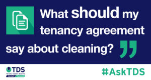tenancy agreement cleaning