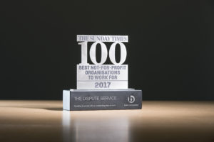 Sunday Times Best 100 Companies award