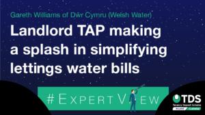 Landlord TAP making a splash in simplifying lettings water bills