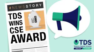 TDS wins CSE award