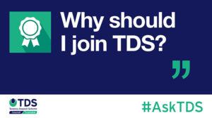 """Image of #AskTDS: """"Why should I join TDS?"""" - TDS"""