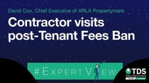 "Image saying ""Contract visits post-Tenant Fees Ban"""