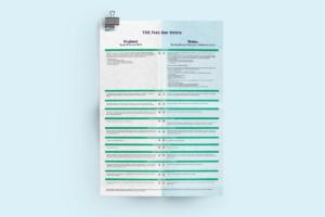 Tenant Fees Ban Matrix - December 2019 Edition