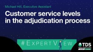 ExpertView blog image - Customer Service levels in the adjudication process