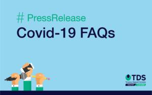 Press Release Blog Graphic - TDS Covid-19 FAQ's