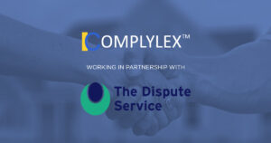 Complylex partnership with The Dispute Service