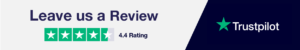 New Trustpilot Banner - 4.4 Rating