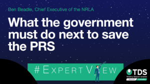 NRLA chief executive, Ben Beadle, looks at what the Government must do to save the Private Rented Sector (PRS). Read the #ExpertView here.