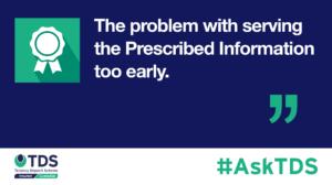 AskTDS prescribed information